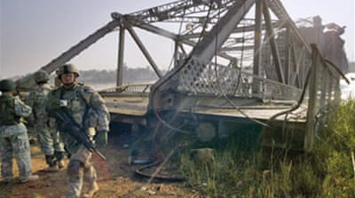 Baghdad bridge attacks seen as plot