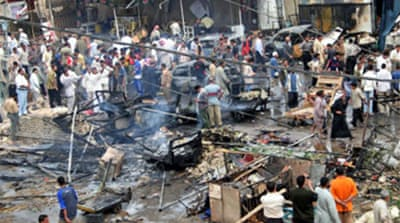 Car bomb blast near Iraq shrine
