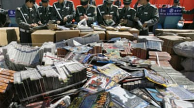 China carries out piracy purge