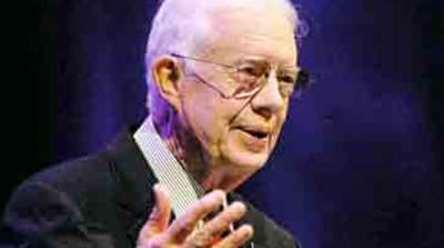 Carter: Bush 'worst president ever'