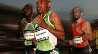 Keflezighi warms up with London