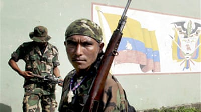 Colombia contests paramilitary ties