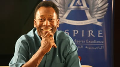 Pele: Doing it for the African kids