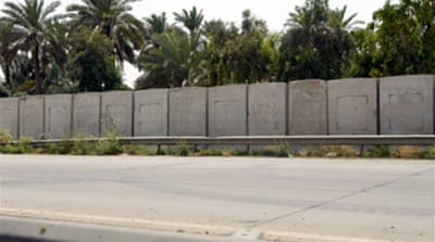 Iraq residents angered by US wall