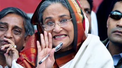 Hasina returns to Bangladesh