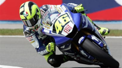 Rossi claims pole in Turkey