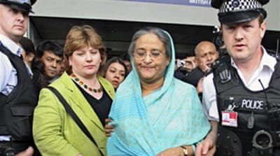 Bangladesh ex-PM barred from flight