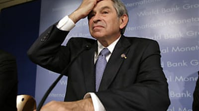 Wolfowitz 'violated his contract'