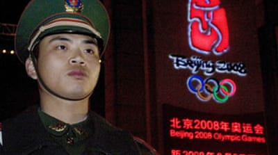 China Olympics 'catalyst' for abuse