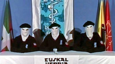 Basque separatists call for peace