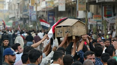 Suicide bomber hits Iraq funeral