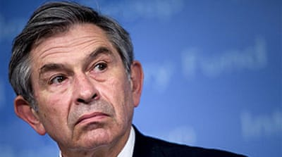 Battle over Wolfowitz successor