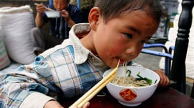 China crackdown on food safety