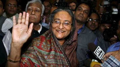 Restrictions on Hasina eased