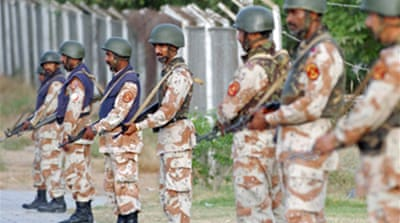 Pakistan raids border training camp