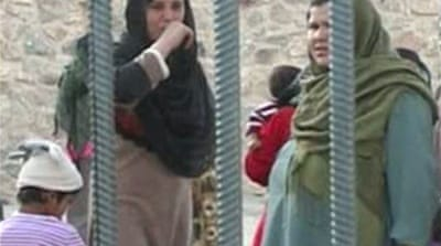 Afghanistan's jailed women