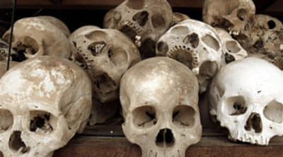 Victims of Cambodia's Khmer Rouge