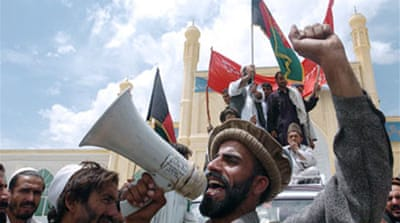 Two dead in Afghan refugee protest