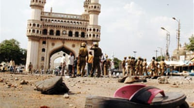 India on alert after mosque attack