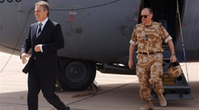 Blair pays surprise visit to Iraq