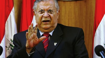 Talabani due in US for checkup