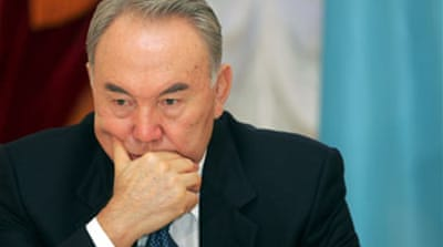 Kazakh president in family row