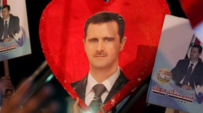Syrians vote in uncontested poll