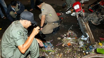 Bombs rock southern Thai city