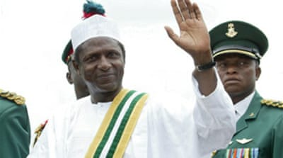 Nigerian president sworn in