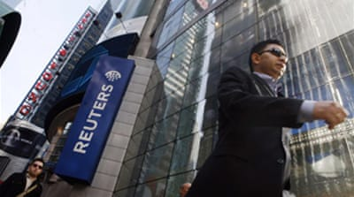 Reuters receives takeover approach