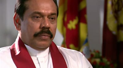 Sri Lanka president 'ready to talk'