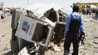 Police killed in Iraq truck bombing