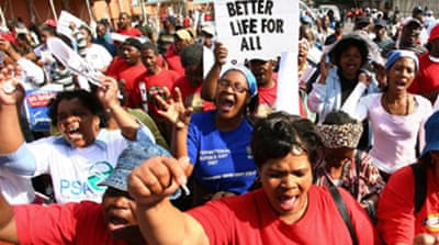 S Africa strike set to intensify