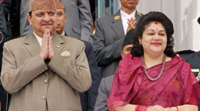 Nepal government cuts cash for king
