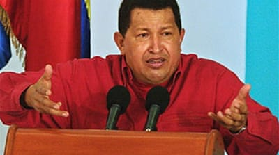 Chavez to 'neutralise' Copa protest