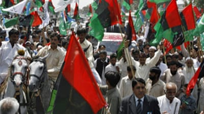Rally hails Pakistan chief judge