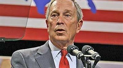 Bloomberg cuts Republican ties