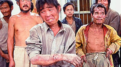 China crackdown on slave labour
