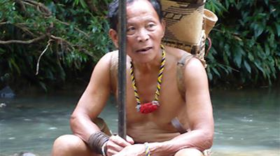 Borneo tribe fights to survive