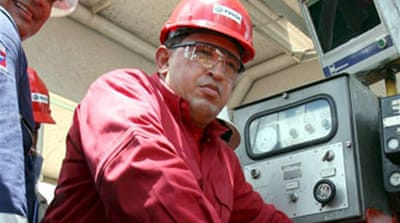 Chavez warns major oil firms