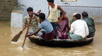 Scores killed in Indian floods