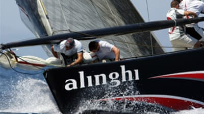 First blood to Alinghi