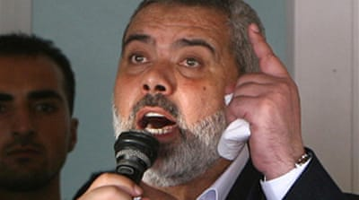 Haniya rejects Israel-Arab summit