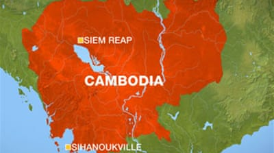 'Bad weather' caused Cambodia crash