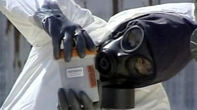 Albania destroys chemical weapons