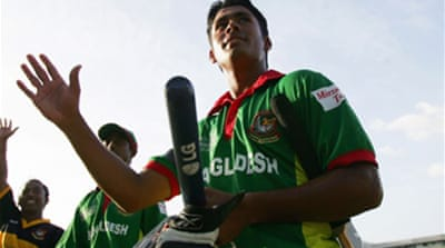 Bangladesh go for youthful Ashraful