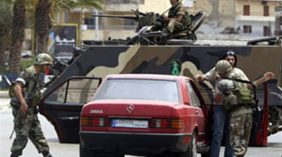 Lebanon camp siege enters third day