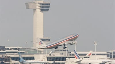 US hunts fourth airport 'plotter'