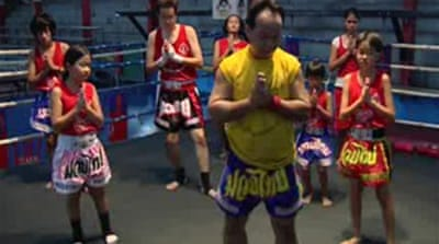 The ancient art of Muay Thai