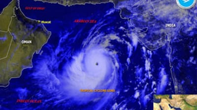 Oman on high alert as cyclone nears